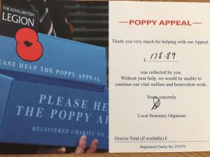 Poppy appeal 2016 17